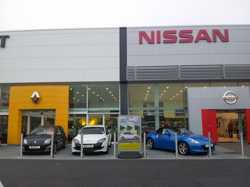 Nissan garage for Garage nissan colmar