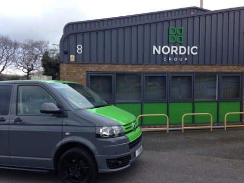 Nordic Installations Office & Van